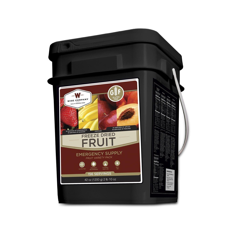 Wise Foods Gluten Free Freeze Dried Fruit 156 Servings