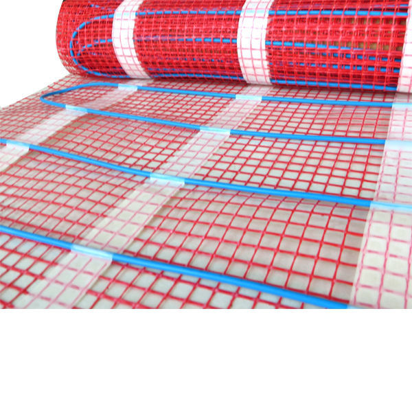 Manufacturer CE EAC TUV fast to fit heat melting cable system have sotck underfloor heating mat