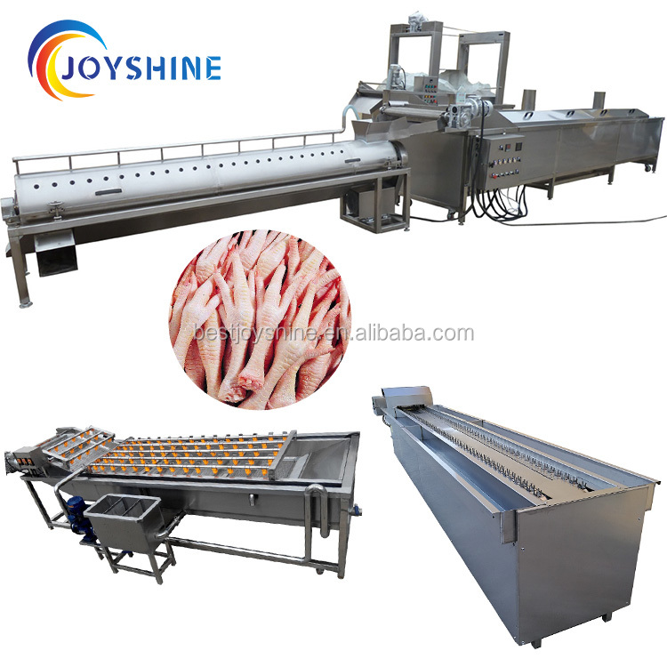1000kg 2000kg <strong>chicken</strong> <strong>feet</strong> <strong>processing</strong> line/<strong>chicken</strong> <strong>feet</strong> peeling machine price