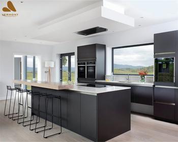 2018 Hangzhou Vermonhouse Elektrische Küche Neues Design Küchenschränke Mit  Led Küche Beleuchtung Schwarz Modernen Stil Smart - Buy Küchenherd ...