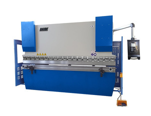 BAIDE 3 axis CNC Press brake 3200mm 130 tons with Delem DA52s CNC