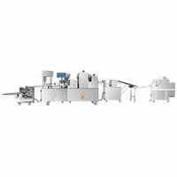 Hot selling automatic commercial bread production line/ stuffed bread machine/toast bread machine
