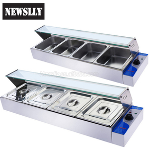 Commercial food warming equipment electric steam table buffet bain marie