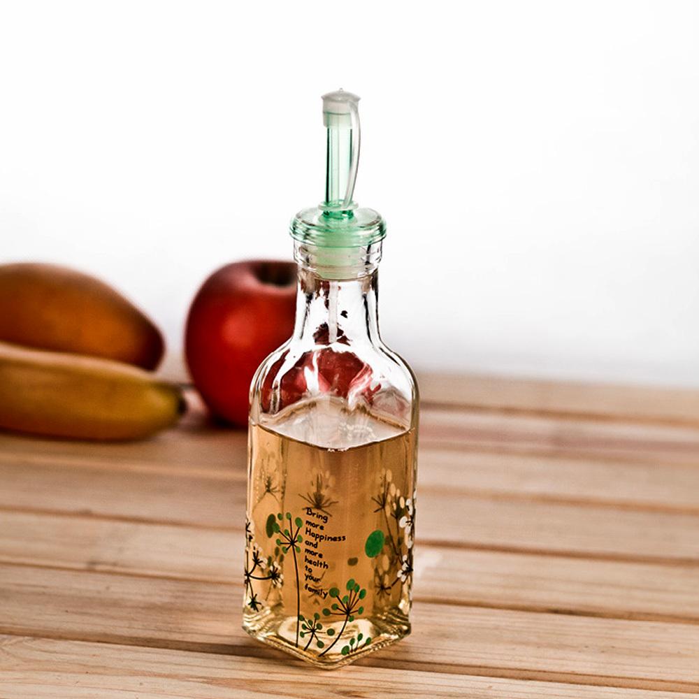 Decorative Vegetable Jars: Novelty Kitchen Glass Decorative Oil Bottle 200ml Oil Jar