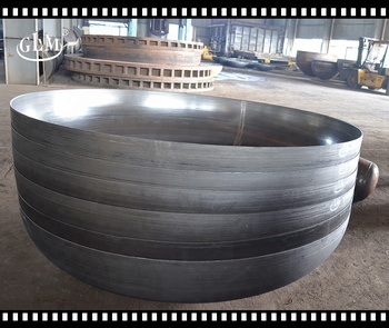 Factory price Ellipsoidal Tank End / Torispherical Dish End for dished flat Bottom