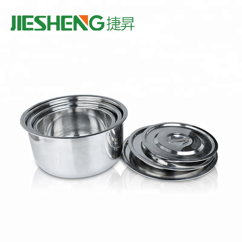 Hot pot besar polishing permukaan stainless steel saham pot
