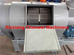 CW 650-1850mm large shape horizontal airflow screen for flour grading/cassava powder centrifugal sieve/airflow sifter