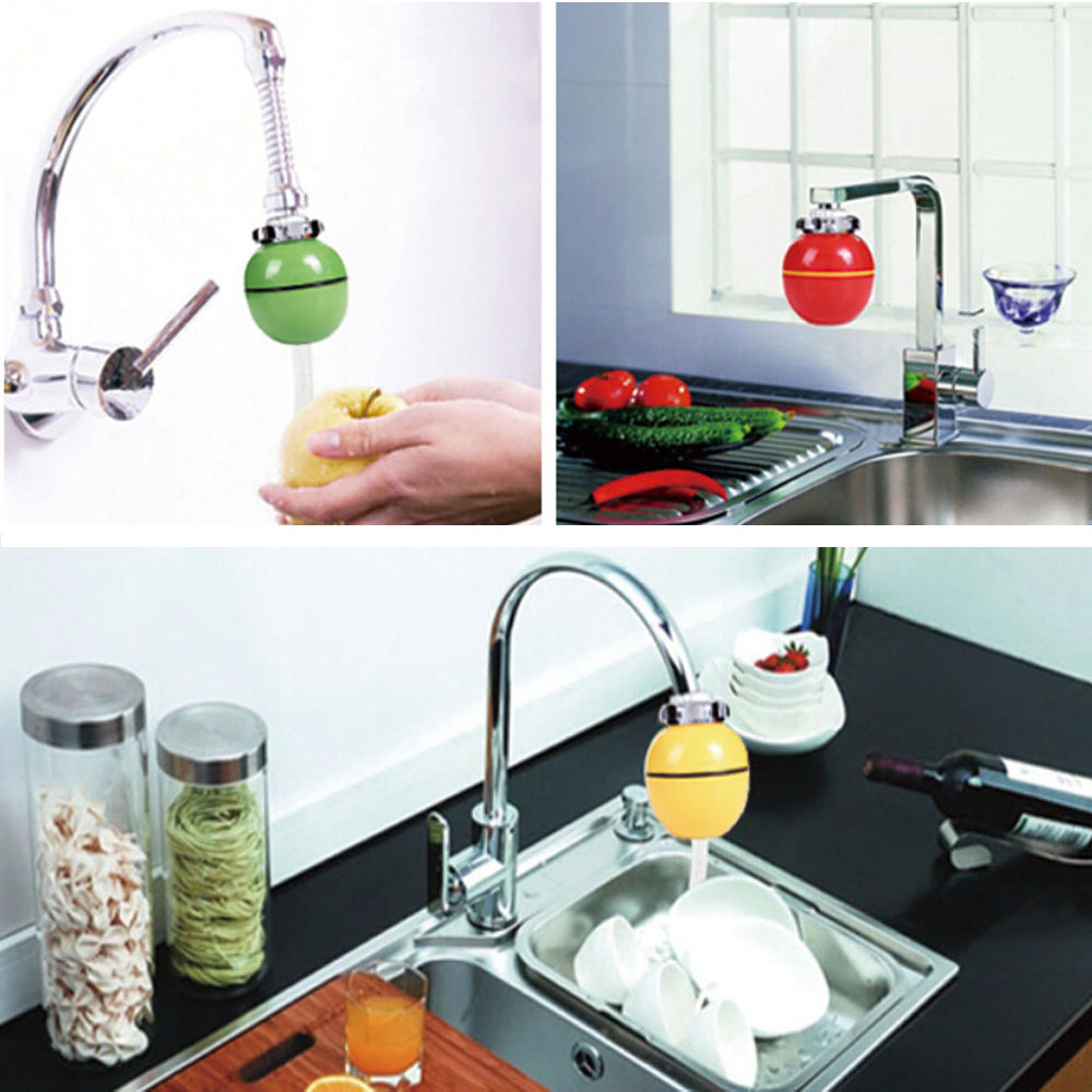 Healthy Bathroom Household Kitchen Bath Shower Head In Line Faucet Filter Purifier Clean Water Tap Remove Chlorine