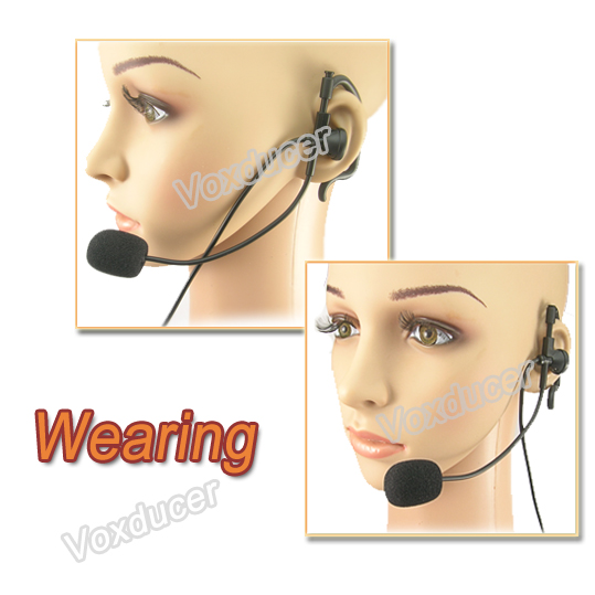 2015 Finger PTT walkie talkie G shape headset with microphone for Motorola SP10 SP21 SP50+ SP50 CT150 CT250