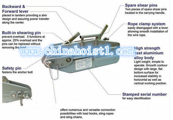 wire puller machine