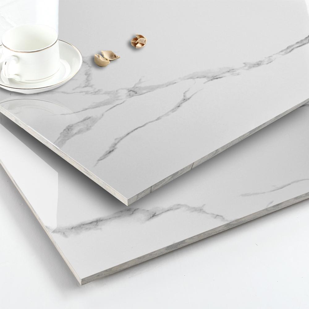 China White Volakas 600x600mm Ceramic Tile Flooring Prices