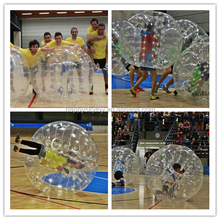 PVC or TPU material inflatable loopy ball hot sale inflatable bumper ball for human