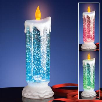 led floating candles glitter color changing led christmas lights - Led Christmas Candles