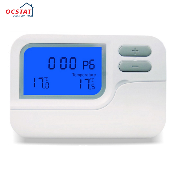 HVAC Heating And Cooling 7 Days Programmable Room Thermostat