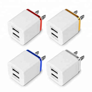 Dual USB Cell Mobile Phone Charger 5V2.1A/1A EU US Plug Wall Power Adapter for ipad iPhone Samsung HTC Cell Phones