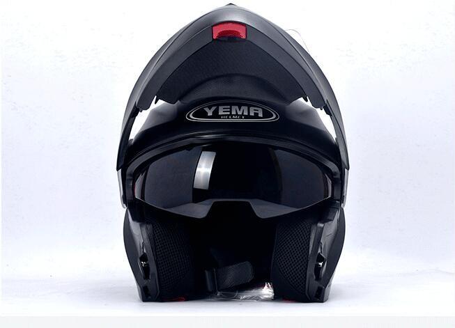 Ym Dot Dual Visor Motorcycle Helmet Dot Flip Up Helmet With - Custom motorcycle helmet decals