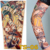 Sports UV-protection Stretchy Cool Design Arm Fake Tattoo Sleeves