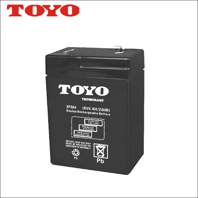 Best Selling Quality ups 6v4ah rechargeable exide battery for sale