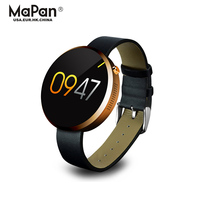 Touch-key and bigger screen round shape ladies smart watch for mobile phones series