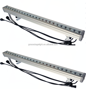 2018 Linear High Power LED Wall Washer Lights 24x3w 1 meter dmx wash light