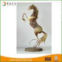 New product vintage style welding metal home decoration horse craft
