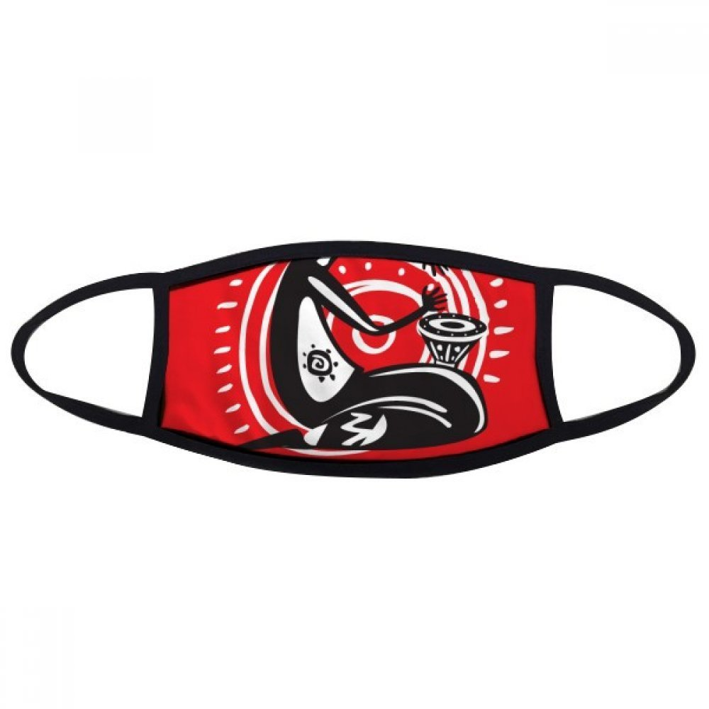 DIYthinker Tambourine Mexican Dance Celebrate Mexico Face Anti-dust Mask Anti Cold Maske Gift