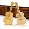 2017 Hot selling products 2g 4g 8g wooden guitar usb flash drive for memento gifts