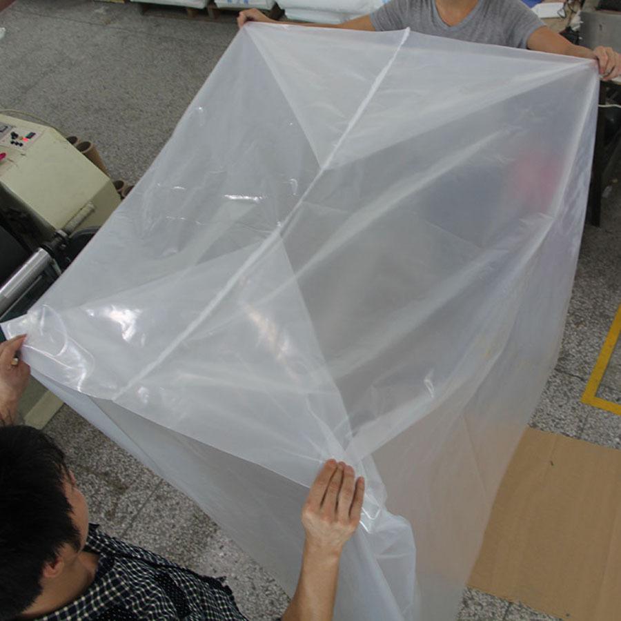 Ldpe Thermal Shrinkable Plastic Packaging Bag Pallet Cover