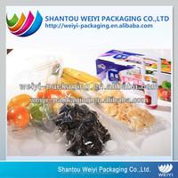 food packaging vacuum sealing zip lock plastic insulated bag for frozen food