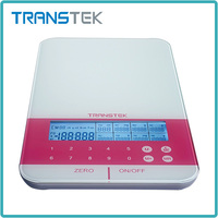 Most popular home small digital kitchen scale 1kg lcd display