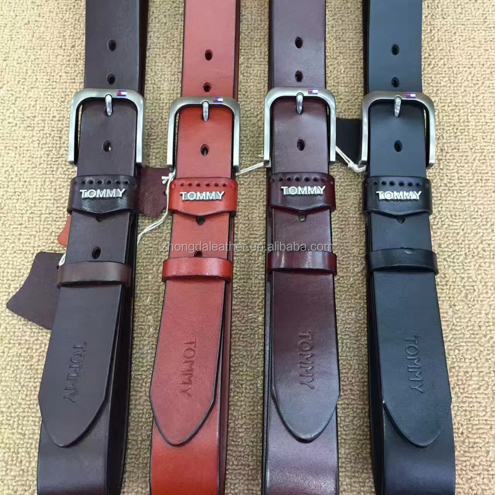 Best Selling Manly Fashionable Genuine Leather Belt Made of First Layer Cowhide