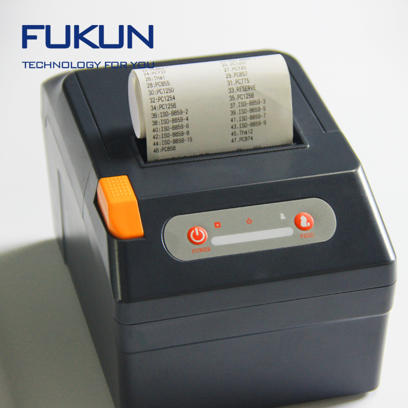 POS printer 80mm thermal receipt printer support multi language, wind10 with hight speed impresora for pos
