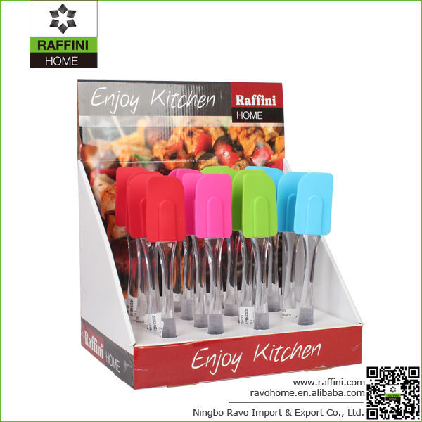 FDA Approved Classic Food Utensils Silicone Classic Spatula