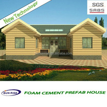 SGS testing High quality prefabricated homes made in China