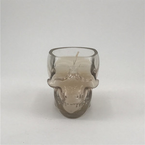 Cement candle jars wholesale candle holders with scented candle for halloween