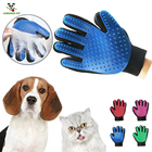 Pet Grooming Gloves Brush Mitt Pet Deshedding Brush Gloves Perfect Massage Cleaning Petting Tool For Dog