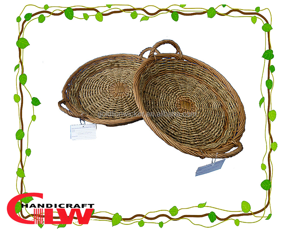 1 pc corn leaf and willow basket,wholesale willow basket,rattan storage basket