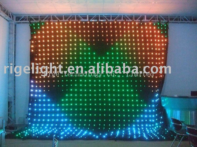 Christmas Led Video Curtain Wall Light