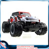 27MHz 4-channel remote control rc monster truck toy 4WD cross-country truck with big wheels 1/10 scale off road car with lights