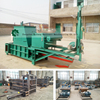 Hydraulic double cylinder hay baler for sale