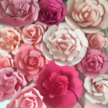 Wedding Decoration Giant Paper Flower Backdrop Buy Stage Decoration Backdrop Wedding Backdrop Design Wedding Stage Backdrop Decoration Product On