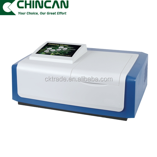 L6 UV Vis Split Beam Spectrophotometer price with automated eight position cuvette holder