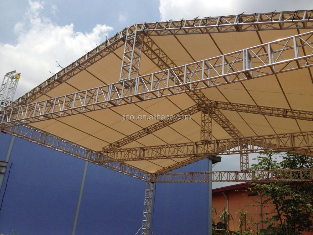 Outdoor concert event mobile stage truss for sale buy for Buy trusses