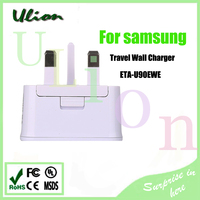 Manufacturers Top quality For original Samsung ETA-U90UWE cell phone charger UK Dual USB WALL Charger