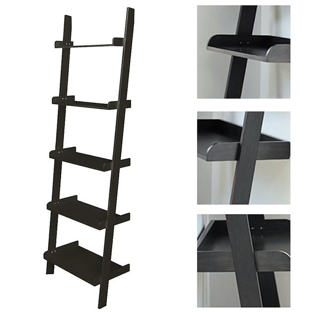 Black Ladder Shelving Unit 5 Tier