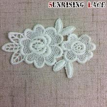 Wedding Dress Patch Water Soluble Bulk Flower Lace Motif