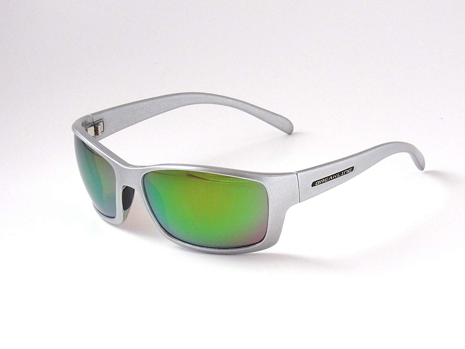 Get Quotations · Steel Shad - BreakLine Polarized Sunglasses - Jim Root  Edition - Green Mirror Lens - Plus 2994d8c8ced1
