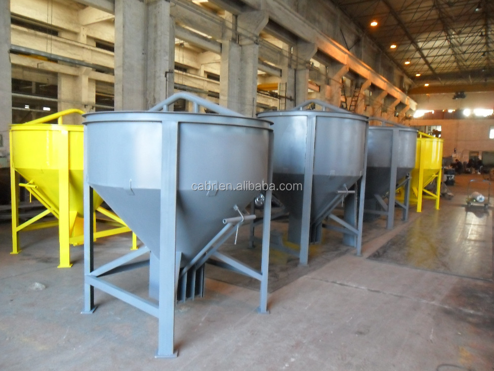 hydraulic concrete bucket