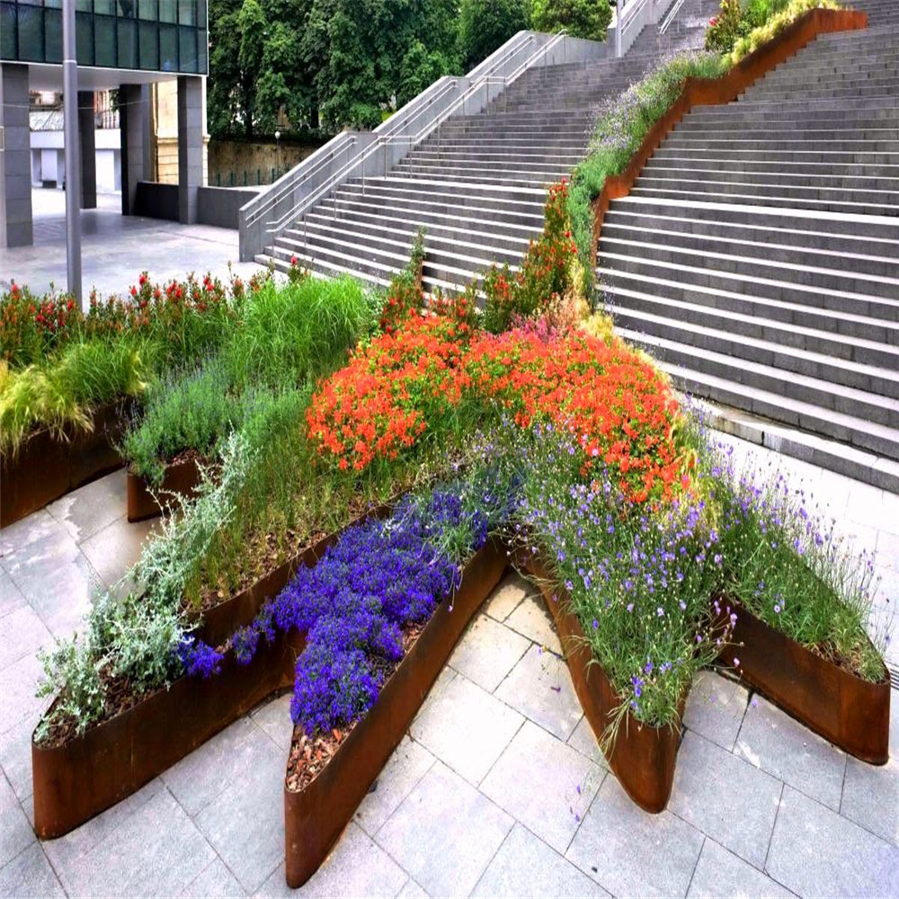 These Corten Steel Garden Edgings Are Suitable For Using In Such Places As  Houses, Gardens, Streets, Gymnasiums, Theaters, Cinemas, Hotels, And  Anywhere ...