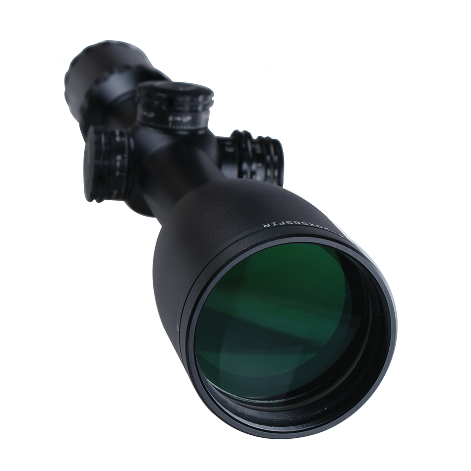 4-20x56 SFIR waterproof rifle scope military side focus rifle scopes with illumination